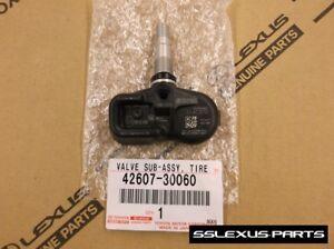 Lexus ES350 (2013-2018) OEM Genuine TIRE PRESSURE (TPMS) SENSOR 42607-30060
