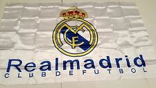 Real Madrid FC  Flag 3x5 Ft Approx Flag FootBall Club de Futbol Quality