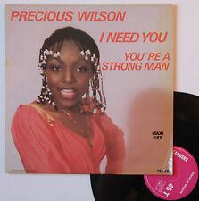 "Vinyle maxi Precious Wilson ""I need you"""