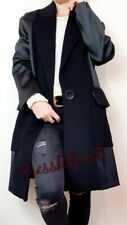 ZARA NEW LONG BLACK MASCULINE COAT SIZE S