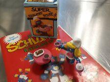 schlumpfinchen mit teeset  40245 Sammlung selten