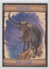 1989 re-Ed Bible Cards Daniel #17 He Goat Non-Sports Card 0q3