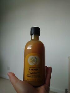 Bn The Body Shop Banana Truly Nourishing Shampoo 400ml. Brand New