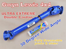 Land Rover Defender 300tdi TD5 Double Cardan Propshaft Heavy Duty Ultra Extreme