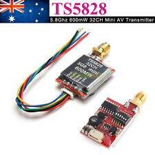 FPV 5.8Ghz 5.8G wireless video transmitter TX 32CH 600mw TS5828 RC FPV AU ship