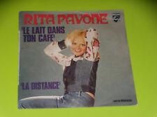 45  tours SP - RITA PAVONE - LE LAIT DANS LE CAFE - 1973