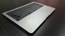 "A1706 Macbook Pro 13"" 2016 TopCase Keyboard Battery A1819 Trackpad Gray Taiwan"