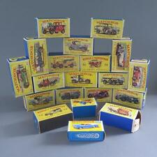 LARGE GROUP OF MATCHBOX CARS OF YESTERYEAR LESNEY WITH BOXES