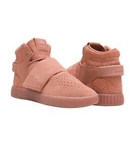 ADIDAS Hi Tops TUBULAR INVADER STRAP CG5070 Sneakers Suede Shoes ( 9 )