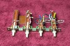 AKAI GXC-39D cassette deck PARTS from working unit - function switch set