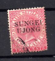 Straits Settlements 1885-90 2c Sungei U Jong fine used SG#45 WS17333