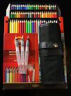 New Koh-i-noor Mondeluz Aquarell 72 Colored Pencils Water color Drawing Set