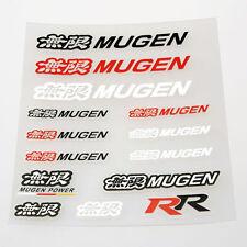 Honda mugen autocollant set pvc autocollant vinyle de haute qualité
