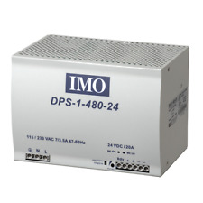 IMO Power Supply 90-264V AC Input 48V DC Output 480 Watts 10A Din Rail Mount
