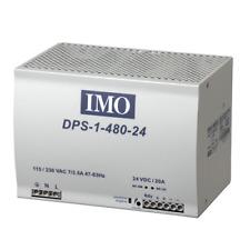 IMO Alimentatore 90-264 V ingresso CA 48 V DC Output 480 W 10 A montaggio su guida DIN