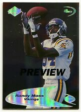 1998 Collectors Edge RANDY MOSS Odyssey Preview RC Rare Minnesota Vikings SP