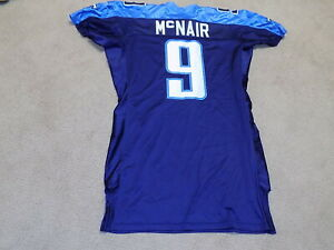 Steve McNair Game Worn Jersey 2004 Tennessee Titans