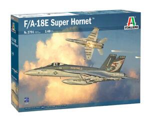 Italeri 1:48 2791 F/A-18E  Super Hornet Model Aircraft Kit