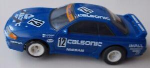AFX AURORA TOMY  CALSONIC NISSAN SKYLINE  #12 SLOT CAR