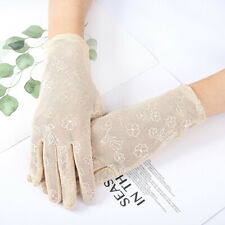 Mesh  Breathable Gloves Outdoor UV-proof Riding Screen Show Party Household