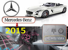 Mercedes Benz 2015 2016 EPC WIS ASRA Volle deutsche Version. Vorinstalliert!