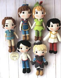 Crochet doll , Eric Doll , Handmade doll , amigurumi,