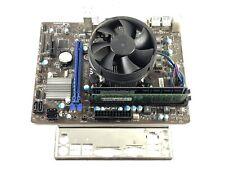 MSI H61M-P31 (G3) Socket 1155 mATX Motherboard DDR3 + i7 2600S CPU + 8GB DDR3