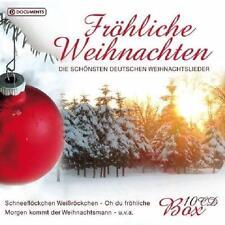 Fröhliche Weihnachten - Die Schönsten Deutschen Weihnachtslieder - 10 CDs