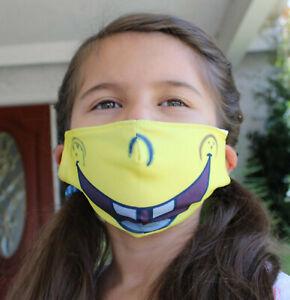 617, SpongeBob SquarePants, Face Cover, KIDS, Face mask, REUSABLE