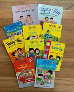 Childrens story books bundle Topsy and Tim Bundle Of 10
