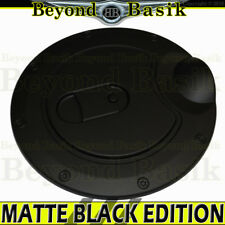 2009-2014 FORD F150 F-150 MATTE BLACK Fuel Gas Door Cover Trim Overlay Caps ABS