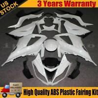ABS Plastic Unpainted Fairing Kit For Kawasaki 2013-2018 Ninja ZX-6R ZX6R ZX636