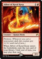 ABBOT OF KERAL KEEP Magic Origins MTG Red Creature — Human Monk Rare