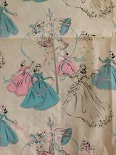 Vintage Wedding C Wrapping Paper Gift Wrap 1 SHEETS Scrapbooking/1950's ?