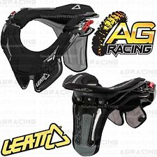 Leatt 2014 Gpx Race Neck Brace Protector Negro Pequeño Mediano Juventud Motocross Nuevo