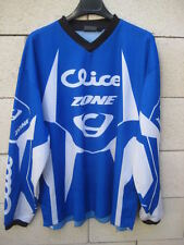 Maillot Moto Cross CLICE ZONE shirt TRIAL bleu XL