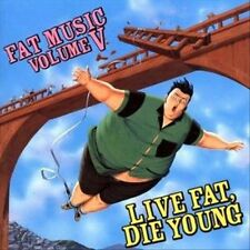 CD Fat Music, Vol. 5: Live Fat Die Young by Various Disc Only Free Shipping