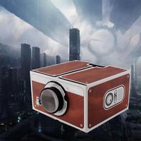 Smartphone Projector V2.0 DIY Mobile Phone Portable Cinema for iPhone Samsung WT