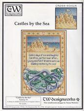 Cross Stitch Pattern Chart - Teresa Wentzler - Castles By the Sea Ocean Saying