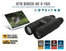 ATN BinoX 4K Smart Ultra HD Day/Night Binoculars Laser Rangefinder Video Wifi