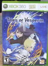 Tales of Vesperia  (Microsoft Xbox 360) New