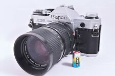 Canon AE-1 35mm SLR Film Camera  with lens , battery #4149716