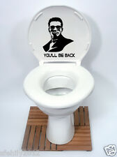 TERMINATOR Style Toilet Seat Sticker Fun Decal Vinyl Sticker xbox ps3 new design