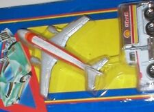 AIRBUS & Shell TANKER. MATCHBOX  Skybuster - SB-28 - A300 beria & FUEL TRUCK New