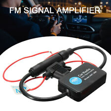 Automobile Car AM / FM Radio Stereo Antenna Signal Amplifier Booster Universal