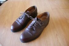 Bostonian STRADA Men's Size11.5 M Brown Cap Toe Lace Up Leather Oxfords ITALY