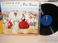 JOSEPH PEYRE Jour De Fete Au Pays Basque LP Vega F 30 S 3006 French pressing vg+