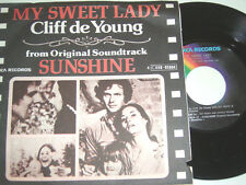 "7"" - Cliff de Young My sweet Lady & Sunshine - Belgium Soundtrack 1973 # 4854"