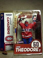 McFarlane NHL unopened NIP JOSE THEODORE #2 60 CANADIENS SERIES 10