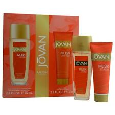Jovan Musk Body Natural Fragrance Spray 2.5 oz & Body Lotion 2.5 oz